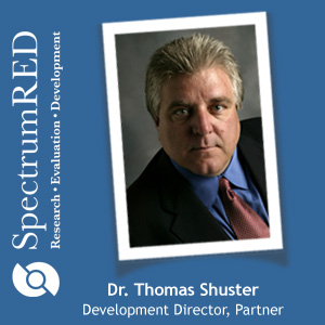 Dr. Thomas Shuster is a partner and development director in SpectrumRED