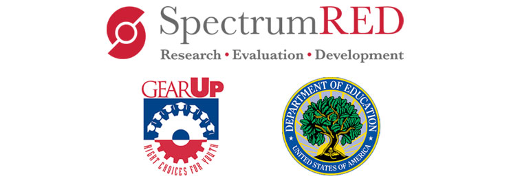 GEAR UP SpectrumRED and U.S. Department of Education logos